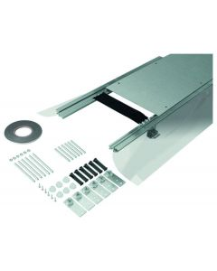 Hager BKFD350045 Floor duct flush with screed. Steel 350x45-70mm