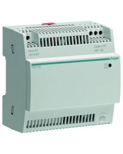 Hager TGF120 Power Supply for PoE Switch 2A/48V
