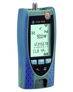 Ideal 1835038 PoE Pro Data Cable and Power over Ethernet Tester