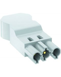 OBO ST-S4 GST18i3 W male connector 3 pins screw connection PA white 6108062